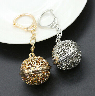 Keychain & Bag Bag NEW Alloy Ball Bell Key Charm Ring Car Pendant Chain HOT Key