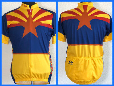 Voler Flag of Arizona Cycling Jersey Team Apparel Men s Size Large 9679ae2fb