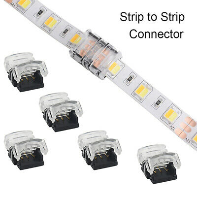 3pin LED Strip Light Connector for Waterproof WS2812 LED Strip to Strip Connect