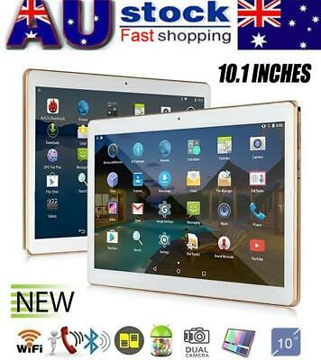 "AU!10.1"" 8+256GB HD Tablet Deca Core CMOS Dual Camera Android 8.1 WIFI BT 3G GPS"