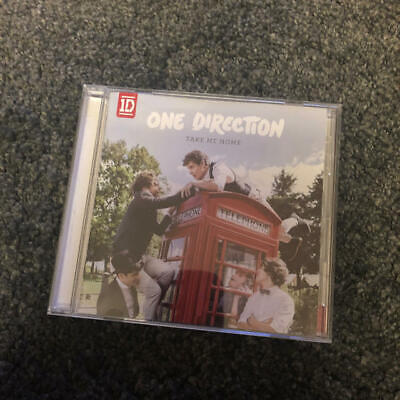 One Direction Take Me Home Music CD JAPAN Limited Used