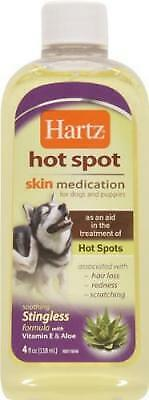 Hartz Skin Medication, Hot Spot, for Dogs and Puppies ‑ 4 fl oz Pack of 12