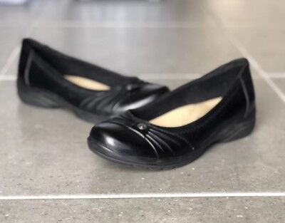 Planet Shoes Felice Black Leather Women's Size 7.5 Slip On