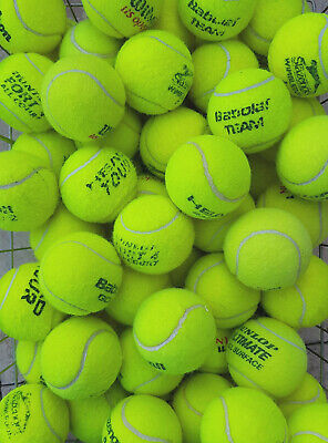 15 Used Tennis Balls For Dogs - Washed & Sanitise To Remove Chemicals & Germs