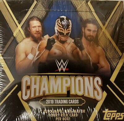 Topps W Champions 2019 Trading Cards = Full Box = 24 Packets