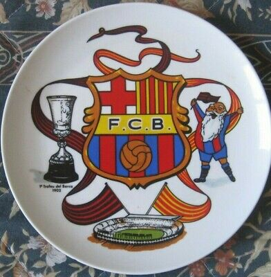Plato F.C. BARCELONA Vintage Year 1992 Abuelo 90 anys