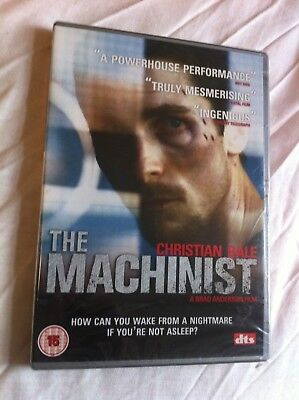 The Machinist - 2004 Christian Bale (New/sealed OOP region-free PAL DVD)