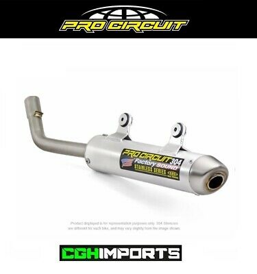 Pro Circuit Exhaust System compatible with 2017-2018 Husqvarna TC250 /& TX300/_0861725|1061725 Platinum Pipe /& 304 Silencer