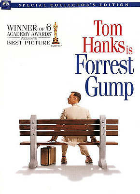 Forrest Gump - Special Collector's Edition (DVD, 1994, 2-Disc) BRAND NEW SEALED