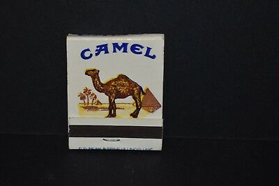 Vintage Rare Collectable Camel Cigarette Match Book Matches Tobacco Advertising