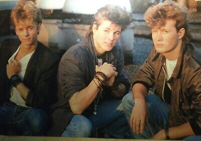 1 GERMAN POSTER A-HA MORTEN HARKET N  SHIRTLESS ROCK BOY BAND BOYS GROUP  BRAVO