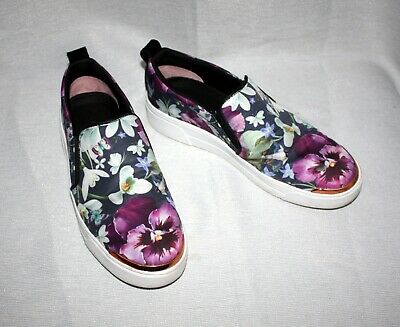 651e5db5c9f7db Ted Baker Tancey Entangled Enchantment Floral Slip On Sneakers Sz US 6