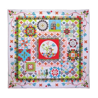 Patchwork Puzzle Quilt Block of the Month (12 months) and Finishing Kit
