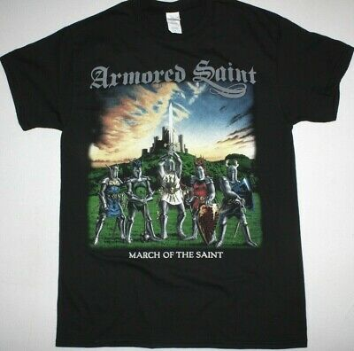 Armored Saint March Of The Saint Heavy Metal New Black T-Shirt