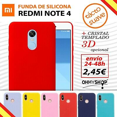 Funda Xiaomi Redmi Note 4 Carcasa Silicona Gel Flexible Ultra Suave Delgada