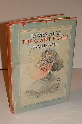 James and the Giant Peach by Roald Dahl 1st/2nd State 1961 Knopf Hardcover