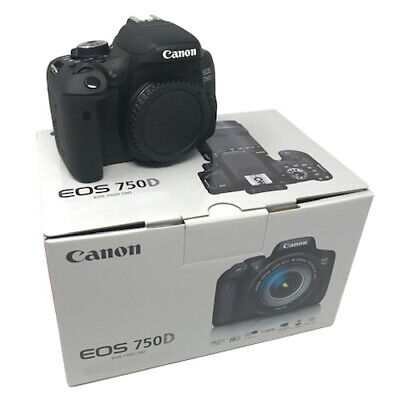 NEW Canon EOS 750D Camera Body Only - UK NEXT DAY DELIVERY