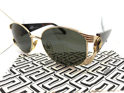 2733e6fda7 Gianni Versace Mod.S64 Col.030 Gold Vintage Sunglasses with Case   Migos  Rihanna