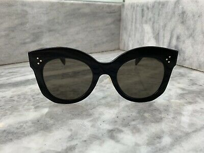 e8eaac8745 CELINE SUNGLASSES BLACK Oversized CL 41443 S -  143.80