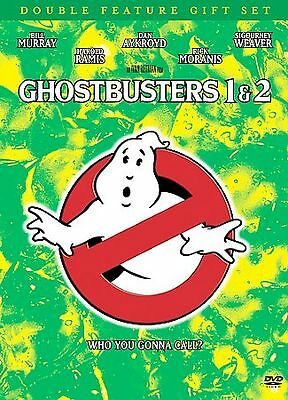 Ghostbusters 1 & 2 (DVD, 2 Disc Set) Double Feature Gift Set BRAND NEW SEALED
