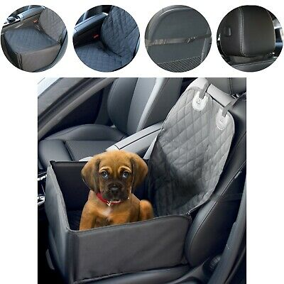 Waterproof Dog Cat Booster Car Seat Cover / 2 in 1 / Pet Travel Carrier Bag #L2
