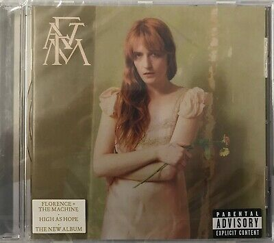 Florence and The Machine - High As Hope(CD) New Sealed Free UKP&P