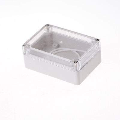 85x58x33 Waterproof Clear Cover Electronic Cable Project Box Enclosure CaseUULK