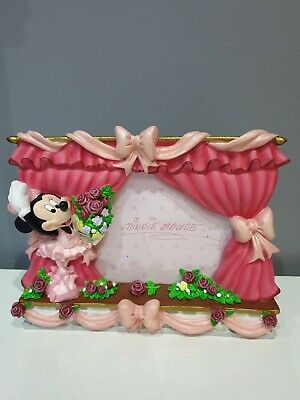 Gorgeous Disney Store  FREESTANDING  MINNIE MOUSE Photo Picture  Frame