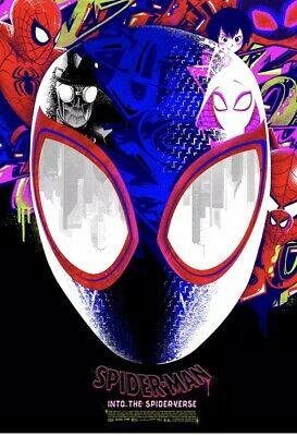 Spider-Man Into the Spider-Verse by Anthony Petrie #/200 Grey Matter Art In Hand