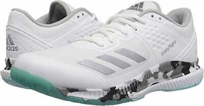 Adidas Crazyflight Bounce W White NGHTMENT Gre Volleyball Shoes Women s US  9.5 4fae71e95