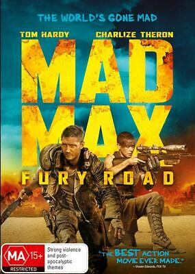 Mad Max - Fury Road (DVD, 2015), NEW SEALED AUSTRALIAN RELEASE REGION 4