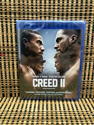 Creed II (2-Disc Blu-ray/DVD, 2019)Rocky 8.Stallone.Michael Jordan.Boxing