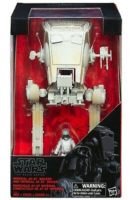 Star Wars Black Series Imperial AT-ST & AT-ST Driver Action Figure Hasbro Disney