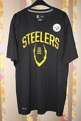 86ae023d7 PITTSBURGH STEELERS WOMENS Shimmer Jersey T-Shirt Plus Size M - NFL ...