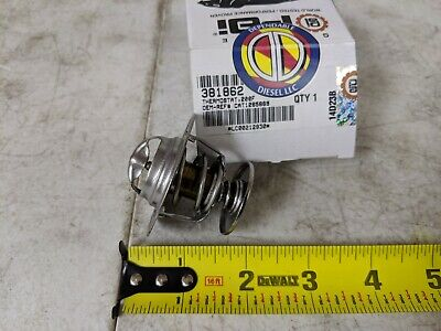 Thermostat 200° for Caterpillar 3116. PAI# 381862 Ref.# 126-5869 108-7045 9Y3365