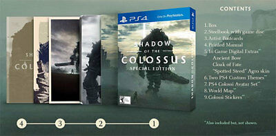 shadow of the colossus ps4 special edition canada