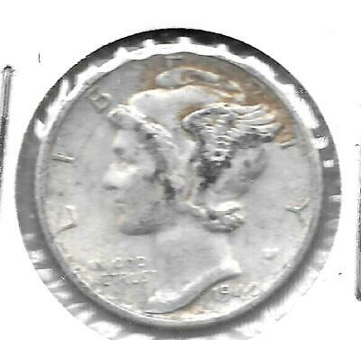 US Mercury Head dime, 10-cent piece, minted in 1940-S (#4)