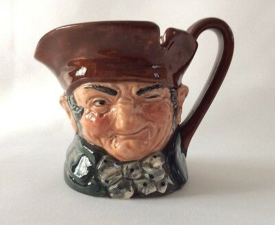 "Royal Doulton Porcelain Figure CHARACTER JUG OLD CHARLEY D5527 With ""A"" Mark"