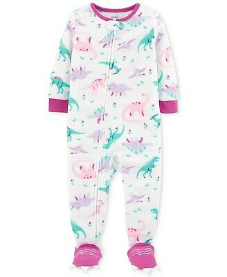 6a5b4bb40 CARTER S BABY GIRLS  1-Pc. Heart-Print Heart Footed Pajamas -  15.99 ...