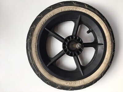 Phil and Teds Spare Rear Back Wheel inc Axle Tyre and Inner Tube -good condition
