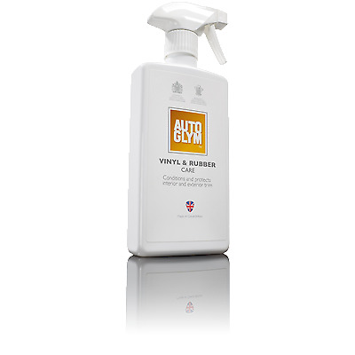 Autoglym Vinyl and Rubber Care Interior Exterior Dashboard & Trim Cleaner Spray