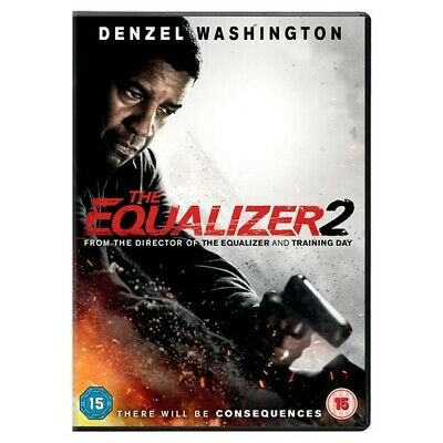 The Equalizer 2, DVD, 2018, Region 2, Fast post.