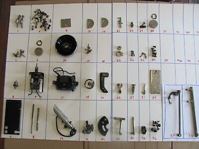 1929 Singer Model 99 Sewing Machine Repair Parts Lots