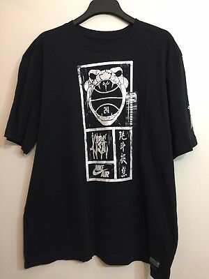 49ebc8f8cce2 Nike Air Year Of The Black Mamba Tee  577705 010  Kobe Bryant T Shirt