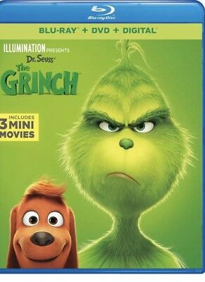 Illumination Presents Dr. Seuss' The Grinch Blu-ray DVD & Digital Factory Se