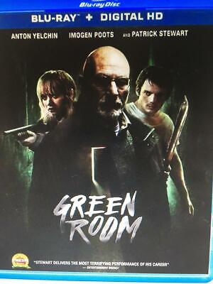 GREEN ROOM  -  Used BLU-RAY Disc ONLY !  * PLEASE READ DESCRIPTION *