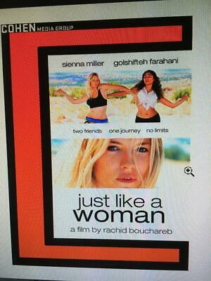 JUST LIKE A WOMAN -  Used BLU-RAY Disc ONLY !  * PLEASE READ DESCRIPTION *