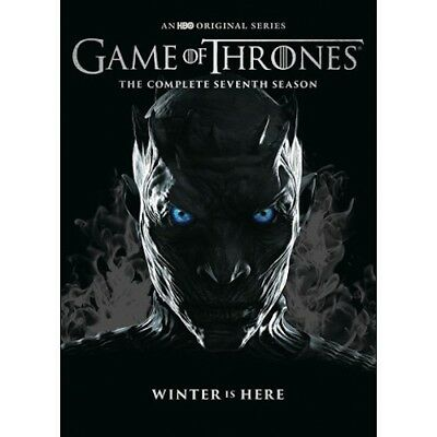 Game of Thrones Season 7 DVD 5 Disc Bonus Disc Conquest & Rebellion Brand New
