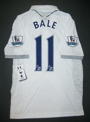 New 2012 2013 Under Armour Tottenham Hotspur Gareth Bale Jersey Shirt Kit  Spurs 8bf95145e9a3c