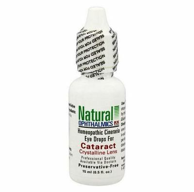 Natural Ophthalmics - Cataract Crystalline Lens with Cineraria 0.5 oz  eye drops